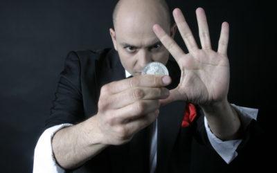 Curso presencial de magia con monedas